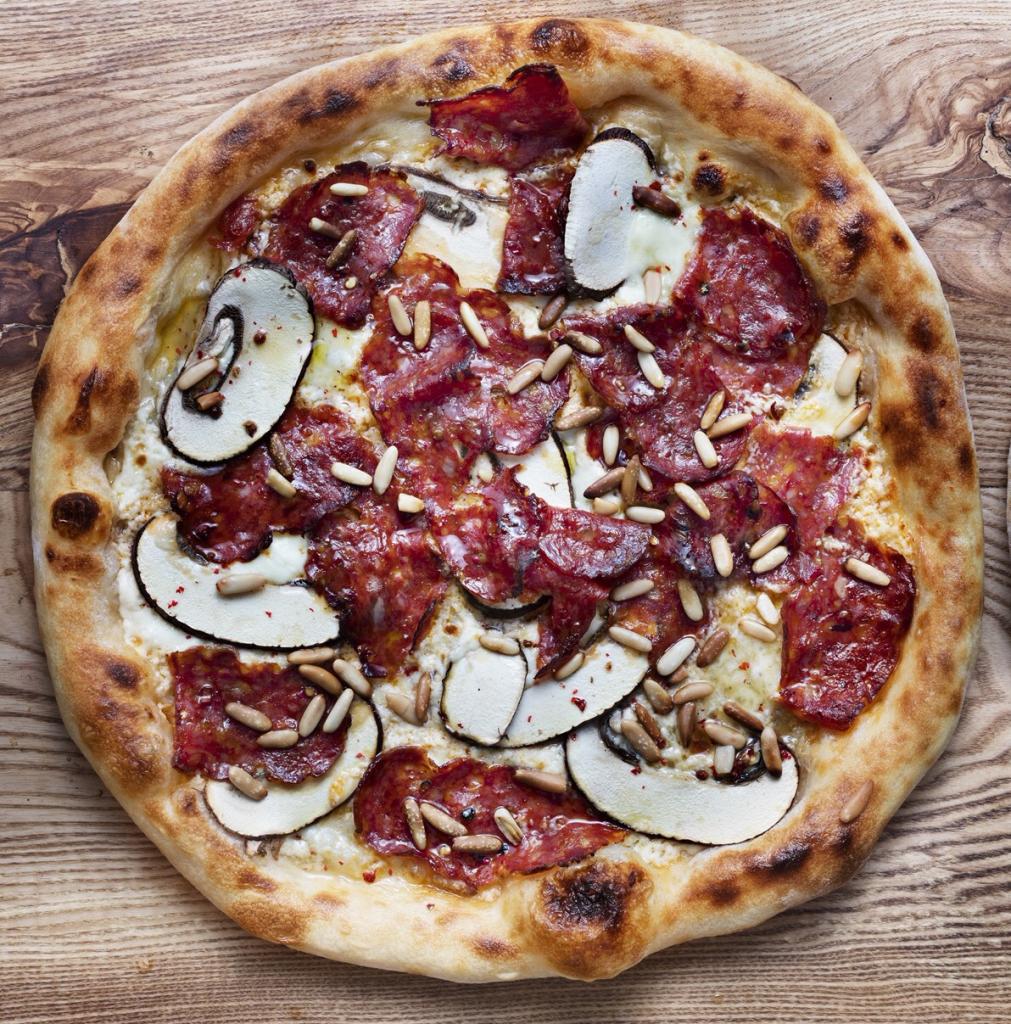 La Festa del Diavolo från pizzerian 800 grader